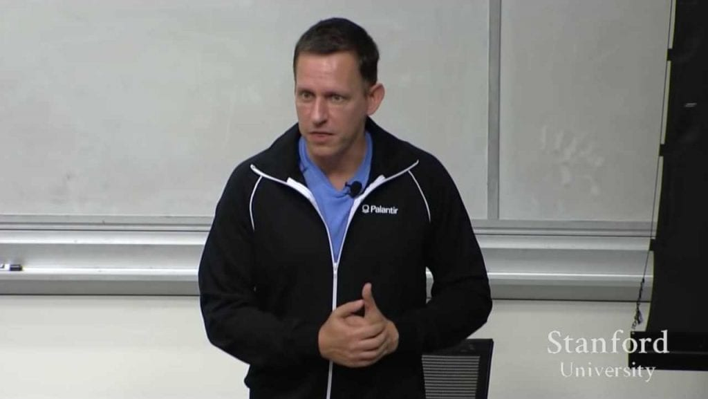 Competition is for Losers with Peter Thiel